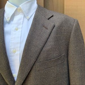 Recent Z Ermenegildo Zegna Tweed Wool Sport Coat
